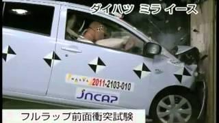 Crash Test 2011 - Daihatsu Mira (Full Frontal) Jncap