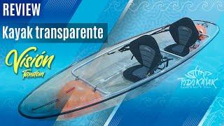 """Vídeo: Kayak transparente """"Vision"""" Tandem"""