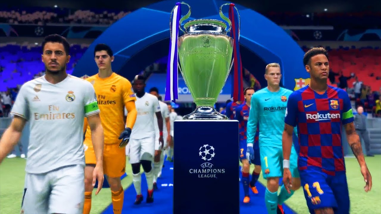 REAL MADRID 2020 VS FC BARCELONA 2020 | FINAL CHAMPIONS ...