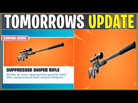 *NEW* TOMORROWS CONTENT UPDATE! (Silenced Sniper, Fixes, & More!)