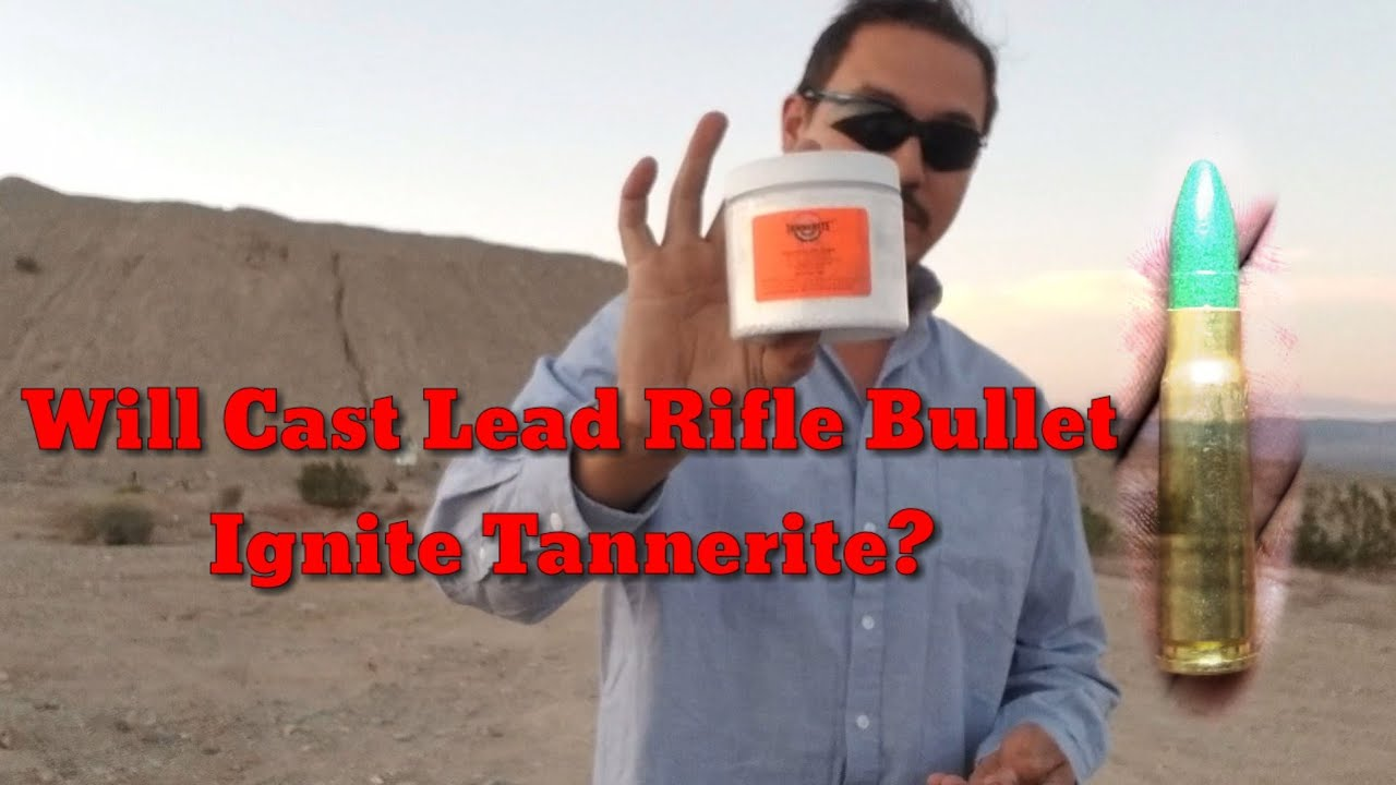 A Surprise Package From UJ! - Will a Cast Lead Rifle Bullet Set Off Tannerite?