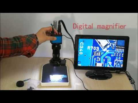 Lapsun mp hdmi usb digital microscope camera youtube