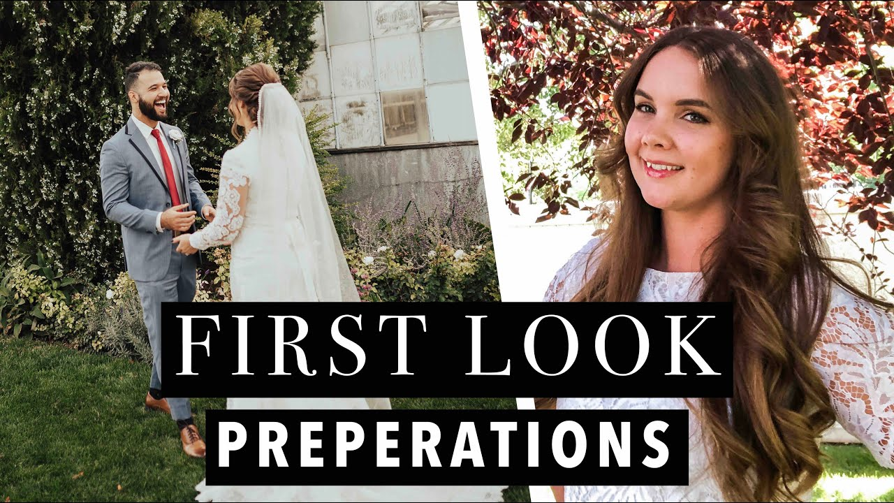 3 Steps To Prepare For A First Look