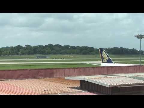Korean Airforce crash at Singapore Airshow