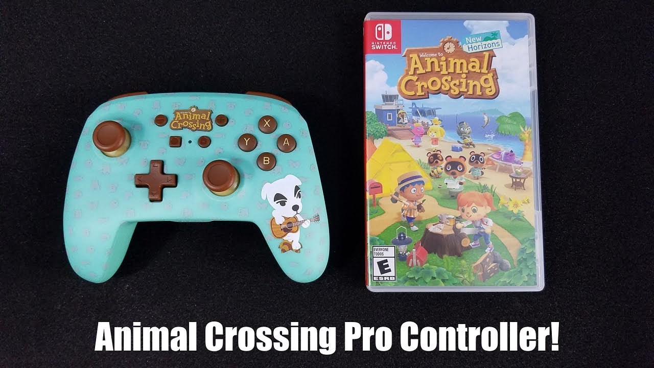 Animal Crossing Nintendo Switch Pro Controller Review Youtube