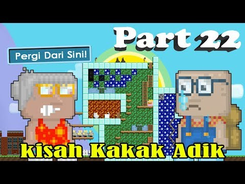 Kisah Kakak Adik New Series part 22 | GROWTOPIA INDONESIA
