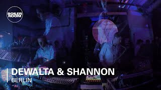 Dewalta & Shannon Boiler Room Berlin Live Set