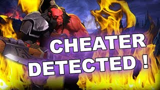 Dota 2 Cheaters: AXE with a lot of HACKS! Beware of NEW SCRIPTS!