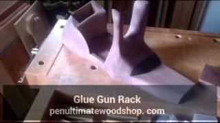 Glue Gun Rack