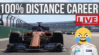 F1 2018 - 100% Distance Career Mode | Round 10: Silverstone