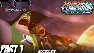 Ratchet & Clank Future: A Crack in Time Gameplay Walkthrough Part 1 - Zolar Forest - PS3 Lets Play