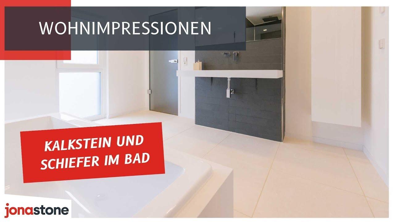Kalkstein Fliesen  Erste Wahl Fürs Bad  Youtube