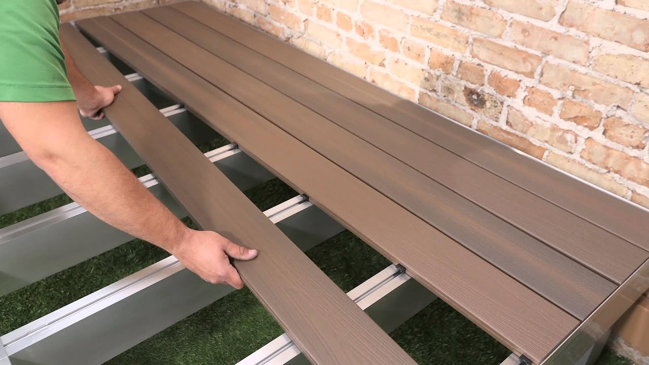 DexSpan Extruded Aluminum Deck and Dock Framing System - YouTube