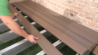 DexSpan Extruded Aluminum Deck and Dock Framing System