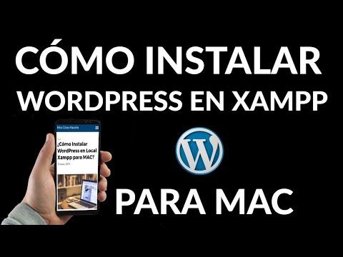 Cómo Instalar WordPress en Local Xampp para Mac