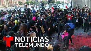 Decenas de mujeres protestan por el feminicidio de Ingrid Escamilla y reclaman justicia | Telemundo