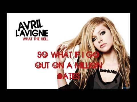 Avril Lavigne - What The Hell (Official Karaoke With Vocals)