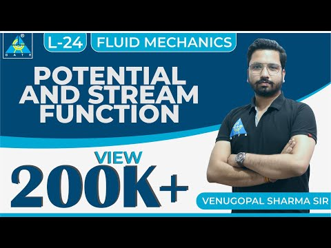 Fluid Mechanics | Module 3 | Potential And Stream Function (Lecture 24)