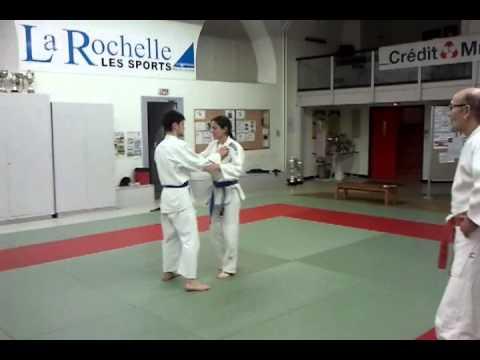2ba7853bfaa3 Passage de grade ceinture marron Judo - YouTube