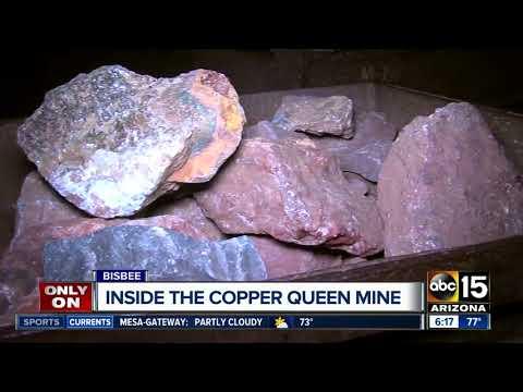 Copper Queen: One Of Largest Underground Mines Is In Bisbee