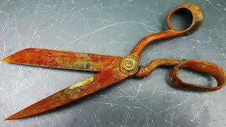 Restoration Old Scissors