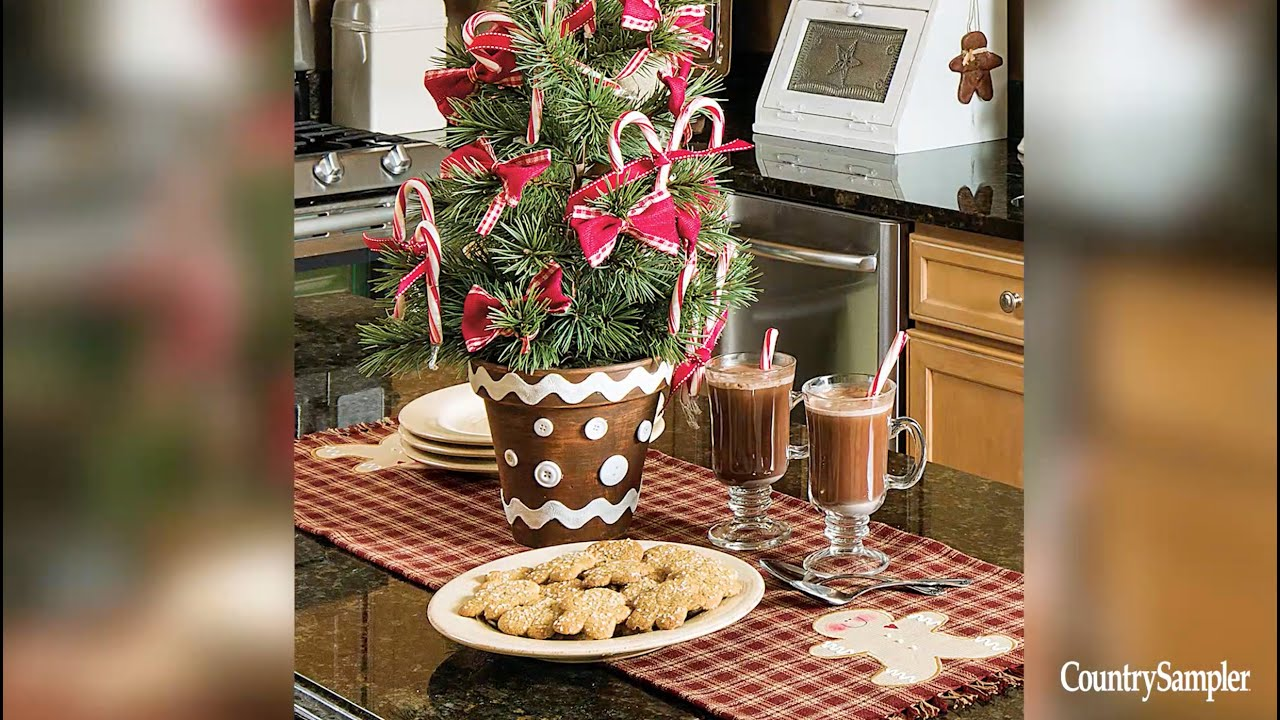 Country christmas table decoration ideas - Country Christmas Table Decoration Ideas 12