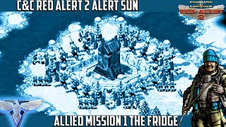 C&C RED ALERT 2 Yuri's Revenge Alert Sun - Mission 1 THE FRIDGE (ಥ ͜ʖಥ)