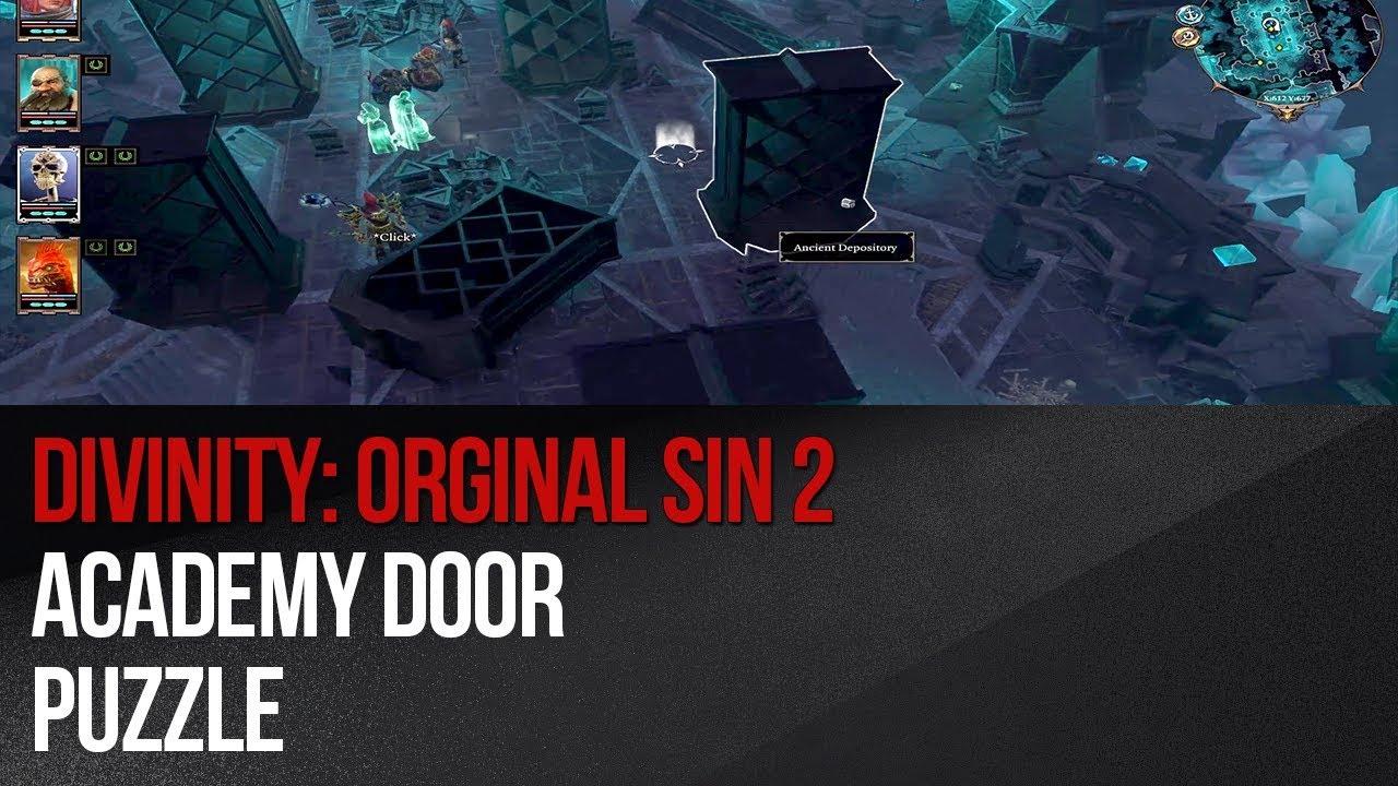 Divinity: Original Sin 2 - Academy door puzzle & Divinity: Original Sin 2 - Academy door puzzle - YouTube Pezcame.Com
