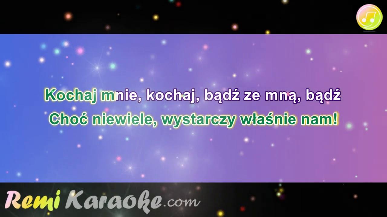 Ich Troje Kochaj Mnie Kochaj Karaoke Remikaraoke Com Youtube