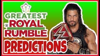 PREDICTIONS | WWE Greatest Royal Rumble 2018 PREVIEW | Jeddah, Saudi Arabia April 27