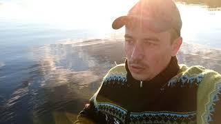 Рибалка наша на озері Orivesi в Фінляндії