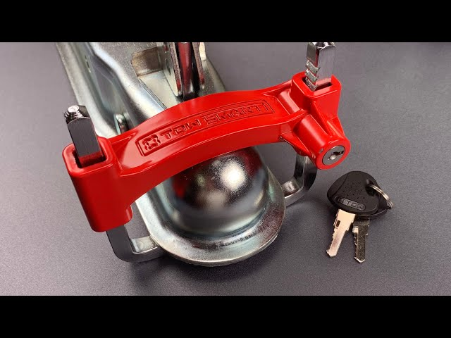 [941] Tow Smart Trailer Coupler Lock Bypassed FAST
