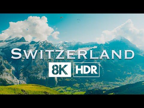 Switzerland 8K HDR 60p (Jungfrau)