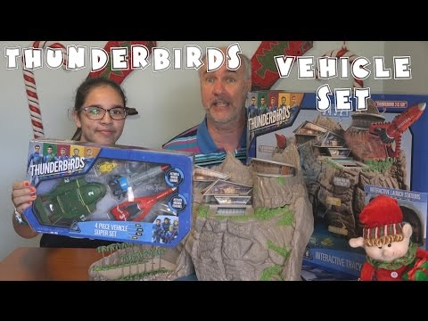 Thunderbirds Vehicle Playset Review | EpicReviewGuys in 4k CC