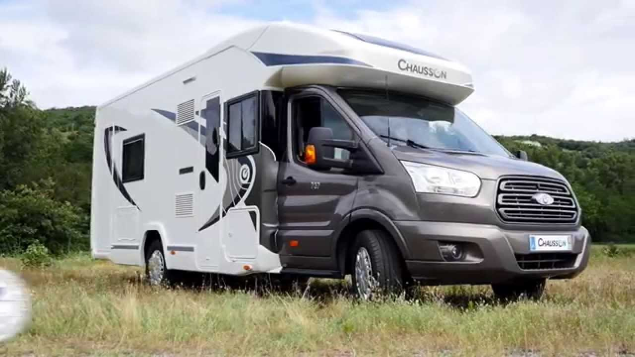 737 chausson camping cars 2016 youtube. Black Bedroom Furniture Sets. Home Design Ideas