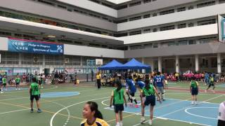分組賽 基灣小學(愛蝶灣) 對 福德學校 上半場