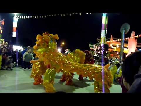 Lion dance (Mua Lan)