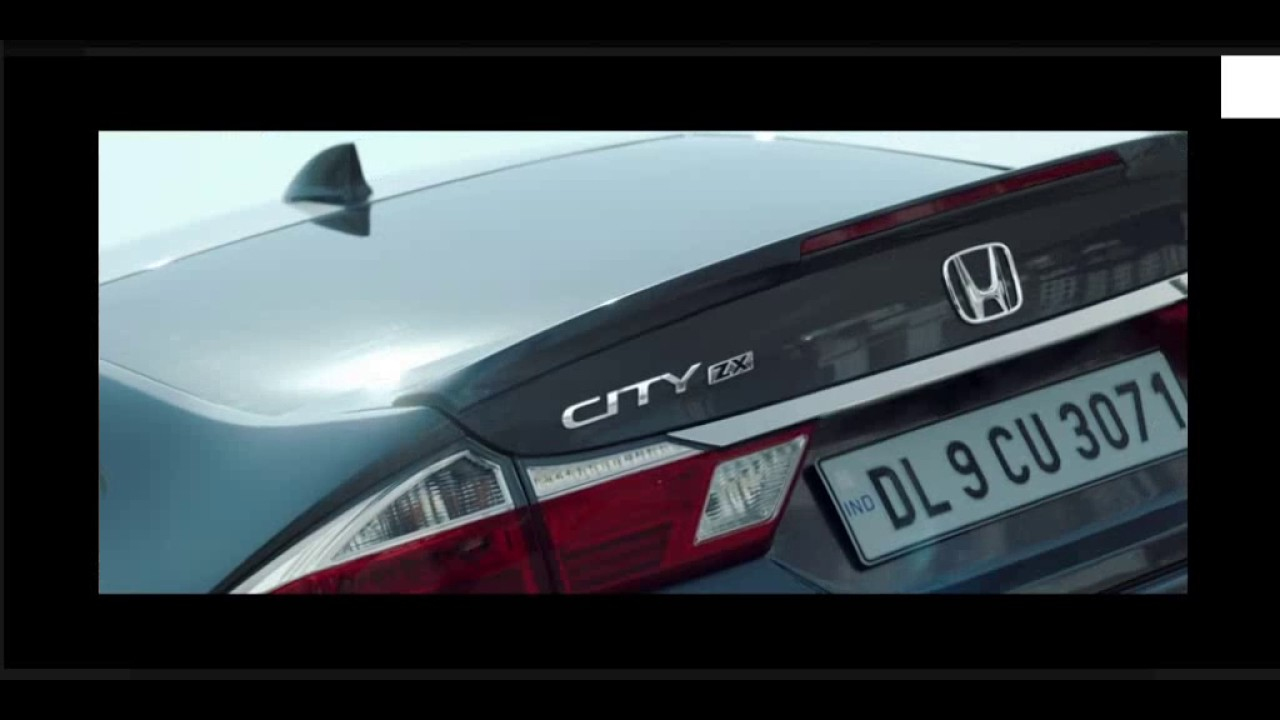 New Honda City 2017 Best In Class Luxury Sedan India Youtube