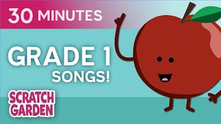 Grade 1 Songs! | Learning Song Collection | Scratch Garden