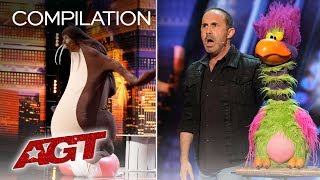 LOL! These Performances Will Make You Laugh So Hard, You'll Cry! - America's Got Talent 2019