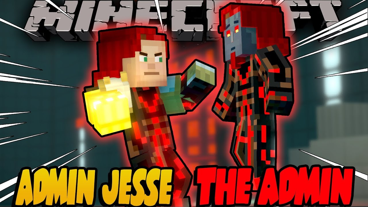 Admin Jesse Vs The Admin The Finale Minecraft Story Mode