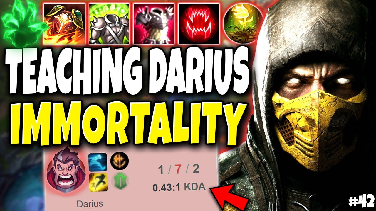 Teaching Darius what an IMMORTAL MONSTER Looks like 🔥 Immortal Series #42 LoL Top Shen s10 Gameplay