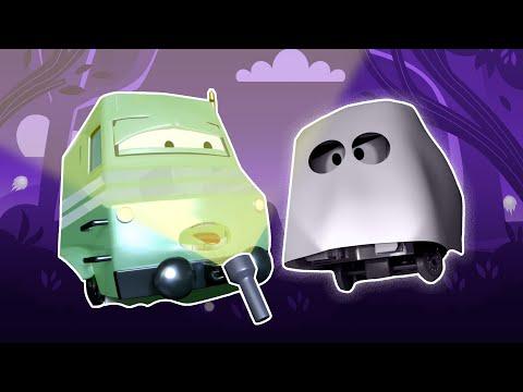 Auto Grad Halloween Sastavljanje 🎃 Novih Zastrašujućih Crtića 👻 Halloween Crtani Filmovi Za Djecu