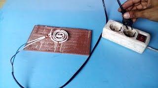 membuat kompor listrik dari element teko.