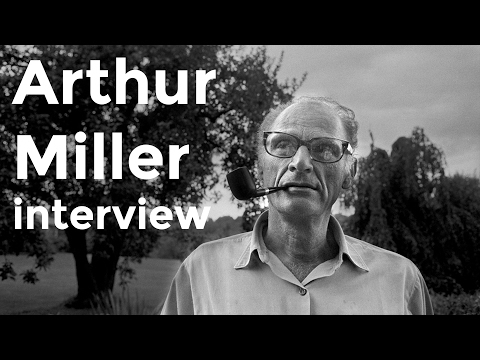 "Arthur Miller and Brian Dennehy interview on ""Death of a Salesman"" (1999)"