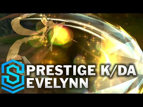 Prestige K/DA Evelynn Skin Spotlight - League of Legends