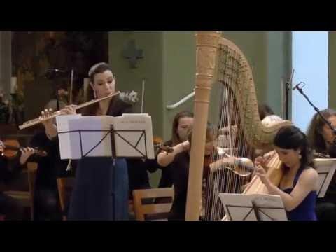 Karin Bonelli & Anneleen Lenaerts - Mozart: Concerto for flute and harp, K.299