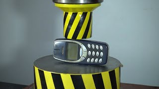 NOKIA 3310 BROKE 100 TON PRESS