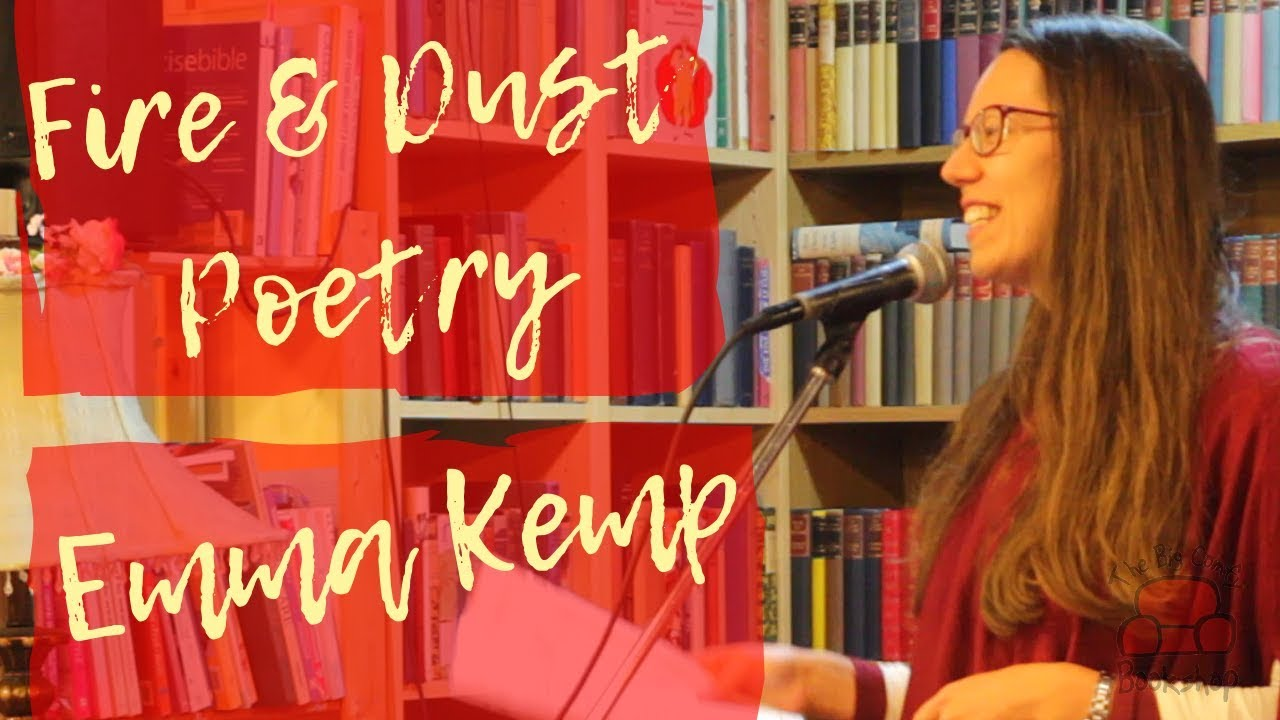 Emma Kemp Poetry at The Big Comfy Bookshop Coventry