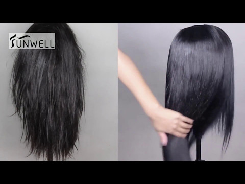 How To Wash Human Hair Wigs With  Guide Steps